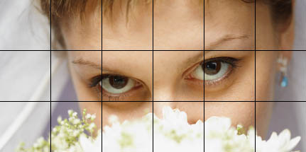 eyes of the bride grid example