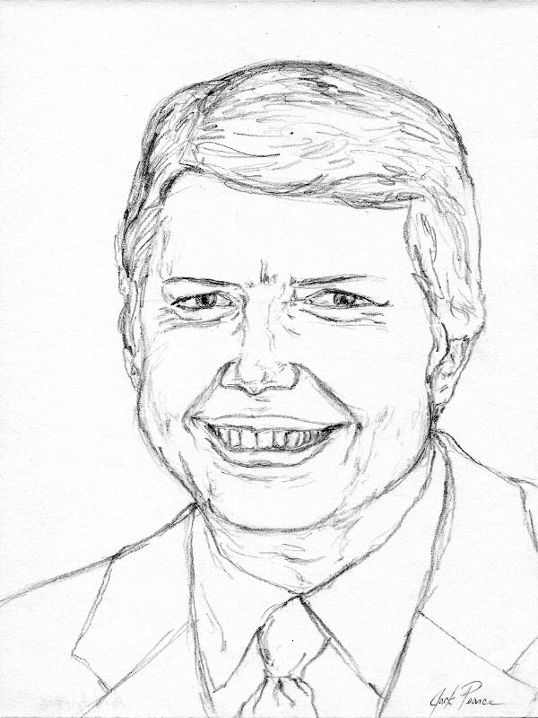 jimmy carter coloring page - vince carter free coloring pages