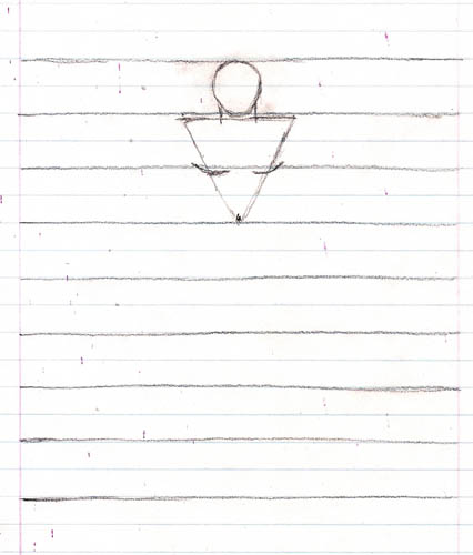 02 how to draw the body triangle