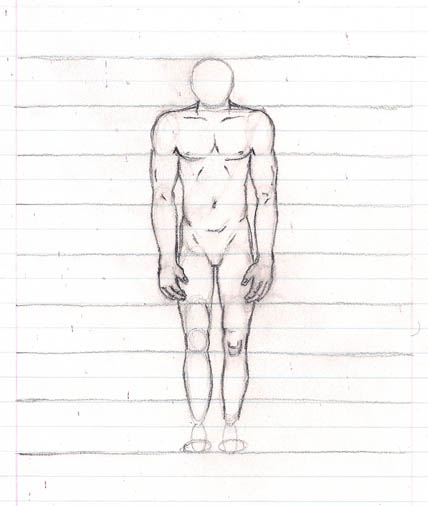 12 how to draw the body legs