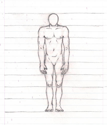 13 how to draw the body billy