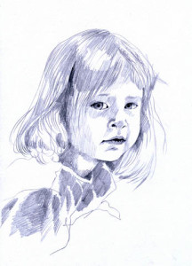 http://www.dreamstime.com/royalty-free-stock-photos-little-girl-pencil-drawing-image23260278