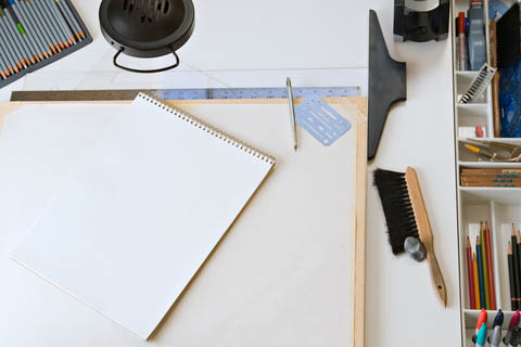 Using certain drawing tools can help you to more quickly realize your hidden talents.