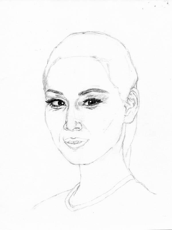 drawing lucy liu eye details 2