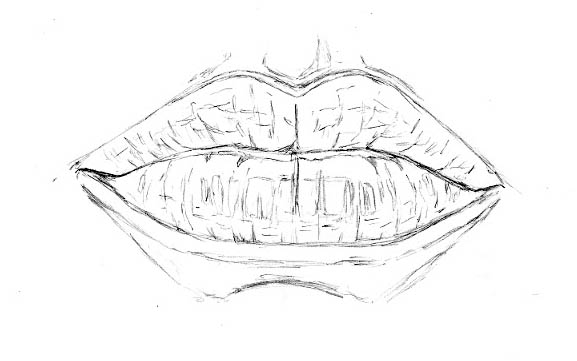 youtube how to draw lips