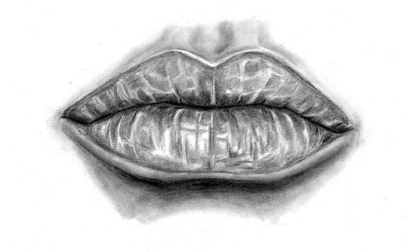 how to draw lips realistic 03