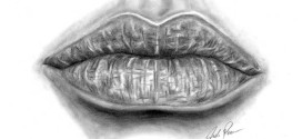 How to Turn Your Plainly-Drawn Lips into Realistic Lips