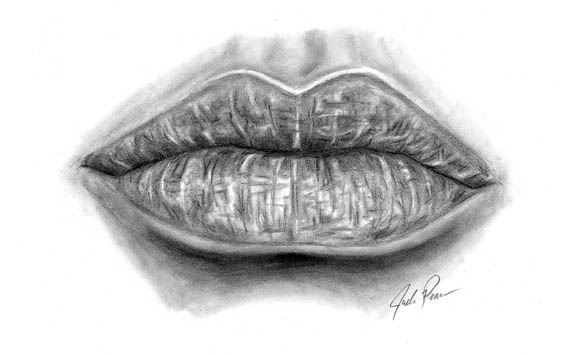 how to draw lips realistic 04