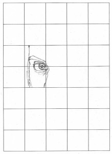 grid drawing square by square