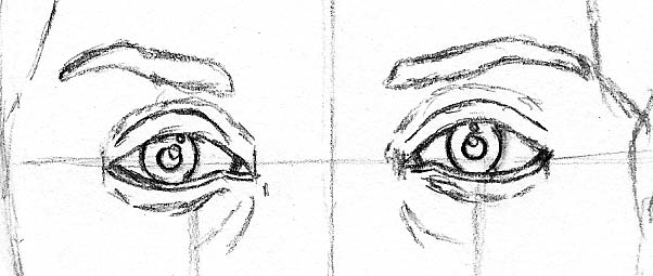 how to draw a face kerry washington eyes eyebrows
