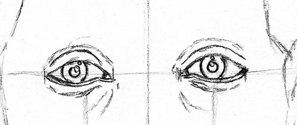 how to draw a face kerry washington eyes eyelids