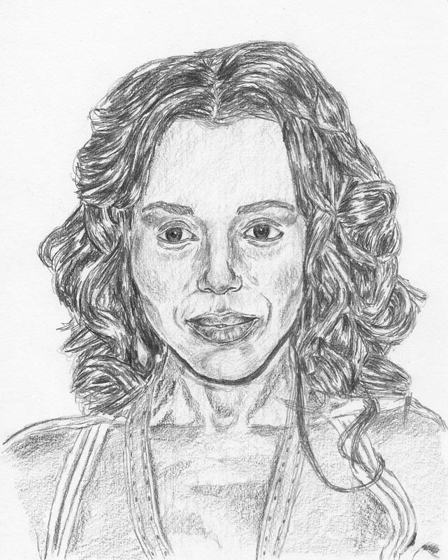 how to draw a face kerry washington final all shading