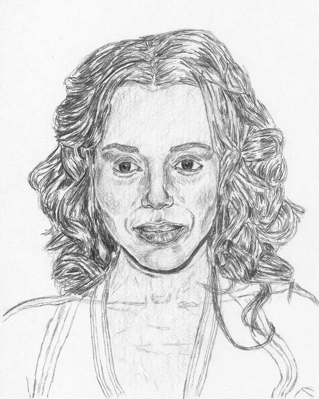 how to draw a face kerry washington final face shading