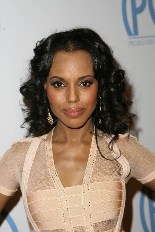 kerry washington reference photo