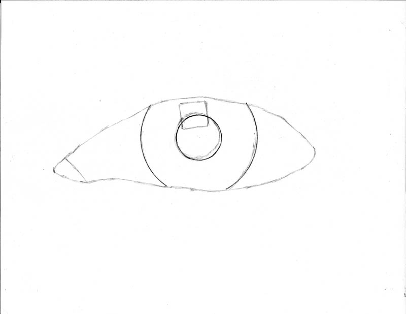 how to draw an eye 0104 highlight