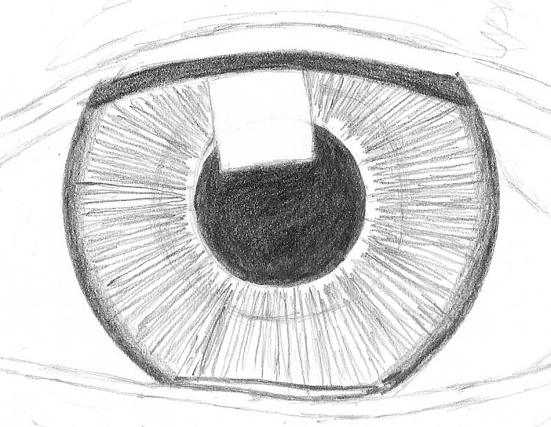 Line Drawing Eye : How to draw an eye realistically part of let s