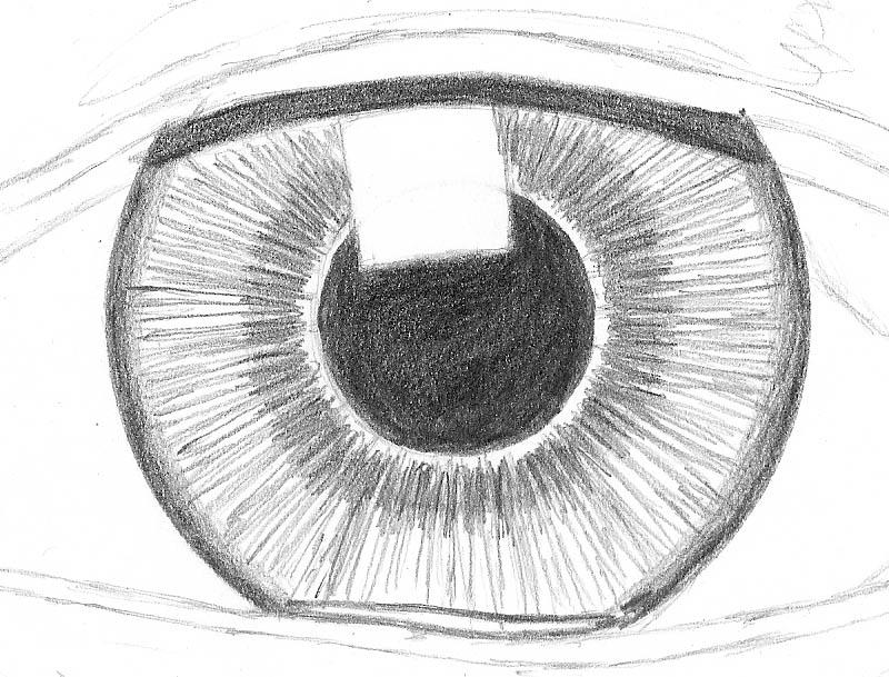how to draw an eye 0207 iris dark inner