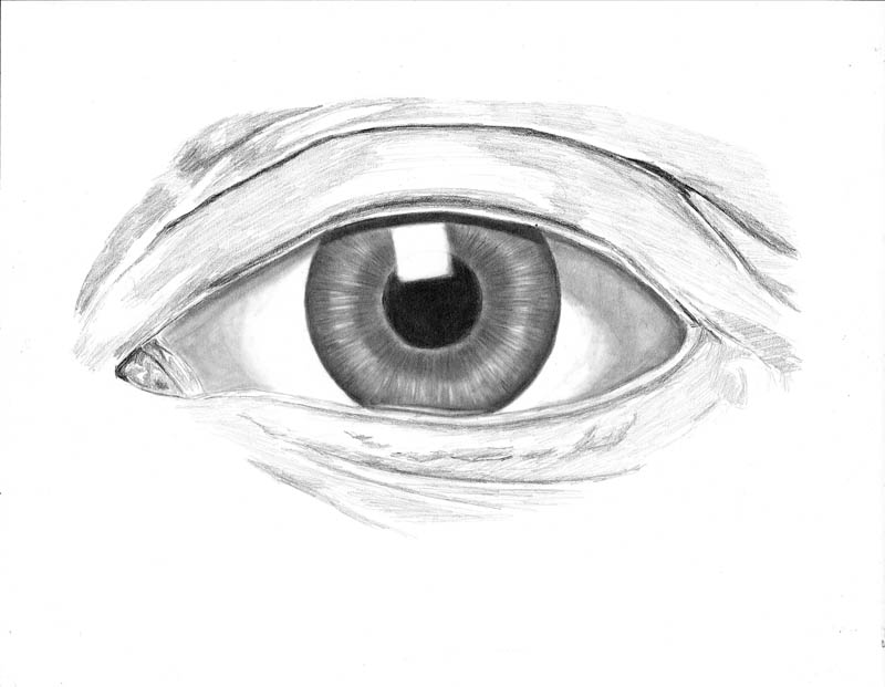 how to draw an eye 0303 white of eye