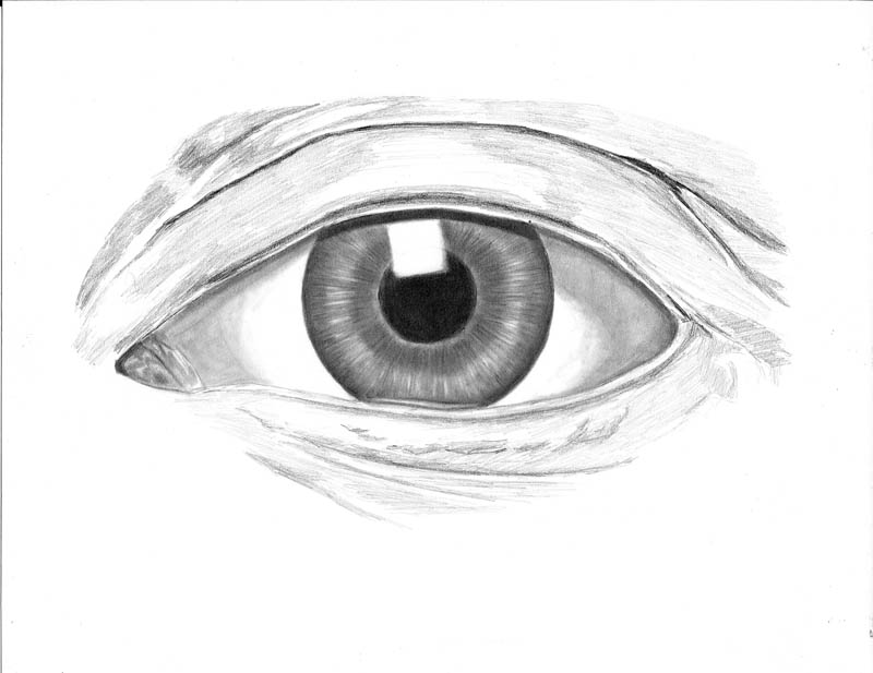 how to draw an eye 0304 tear duct