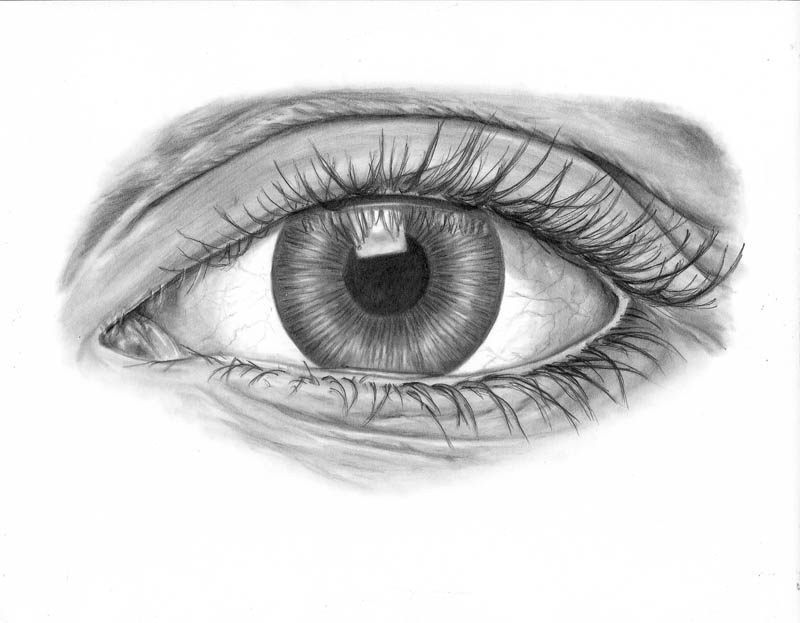 how to draw an eye realistically part 4 of 4 lets
