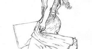 step by step how to draw a dress let s draw people