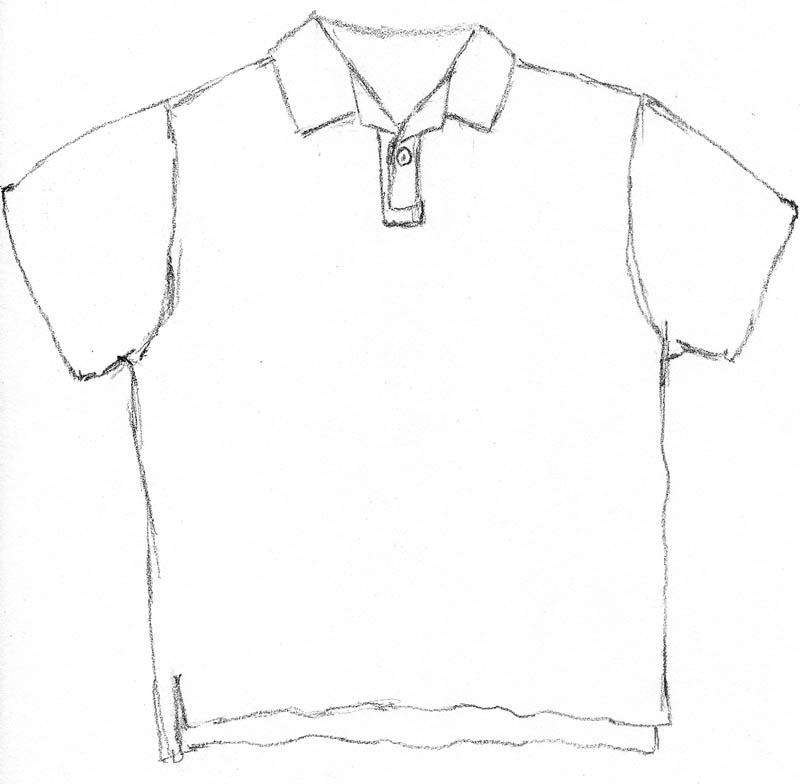 polo shirt sketch 03 sleeves