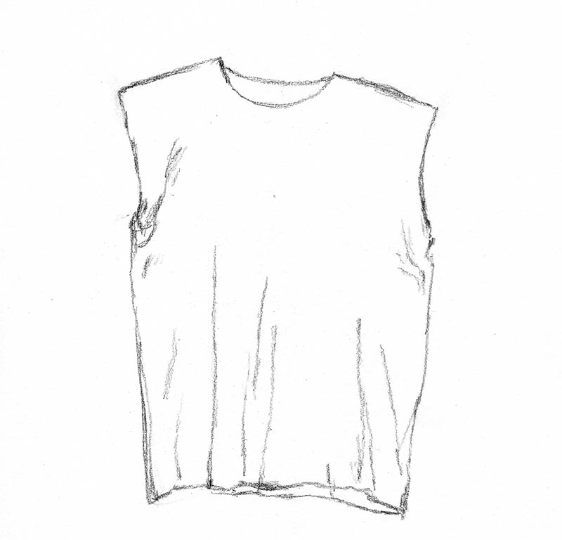 sketch t shirt 01 torso and folds