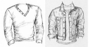 sketches of shirts