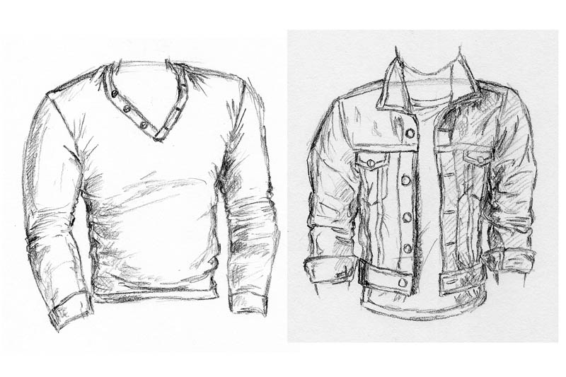 everything you need to know about how to sketch a shirt let s draw