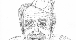how to draw an old man easy