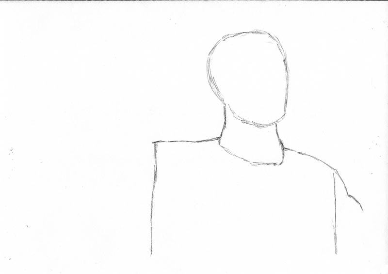 01 how to draw an army man head and body outline