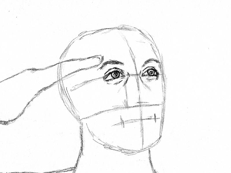 04 how to draw an army man eyes