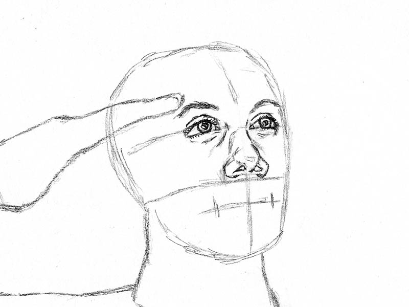 05 how to draw an army man nose