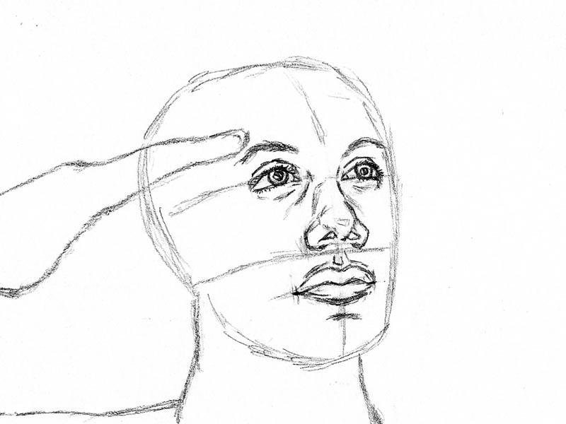 06 how to draw an army man mouth