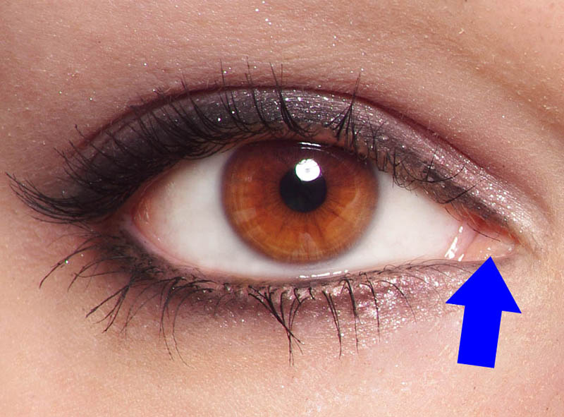 01 how to draw a face photo inner corner eye