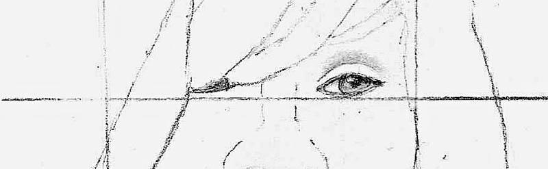 03 how to draw whitney houston eye
