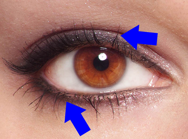 05 how to draw a face photo eyelashes