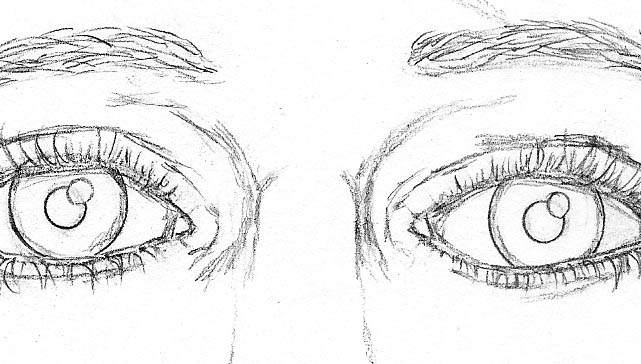06 how to draw a face drawing nose top bridge