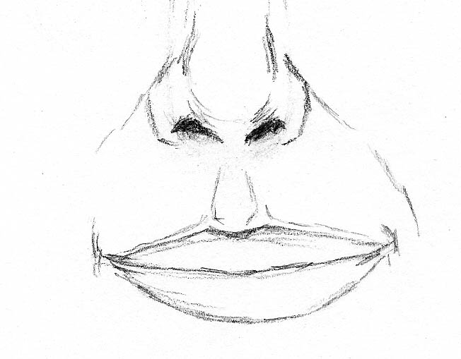 10 how to draw a face drawing corners of mouth