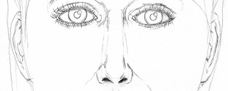13 how to draw a face drawing antihelix