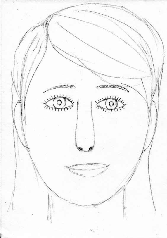 How to draw a face 15 extra tips lets draw people how to draw a face drawing by beginner ccuart Choice Image