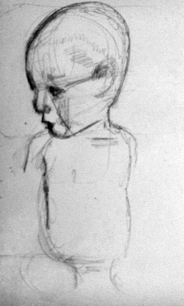how to draw children 03 infant