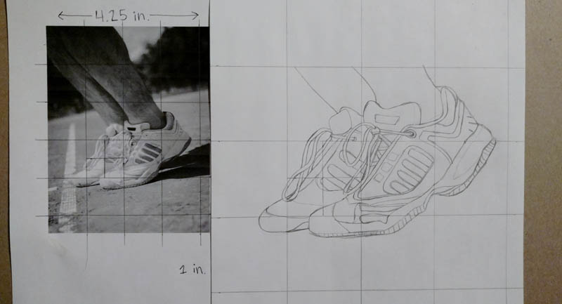 05 how to draw tennis shoes