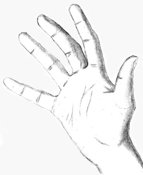 Drawing The Hands Lets Draw People