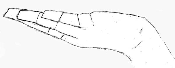 04 how to draw hands serving