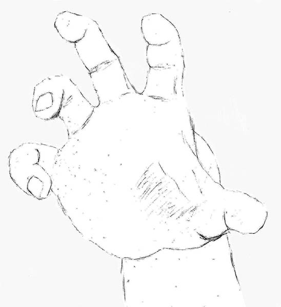 09 how to draw hands grabbing