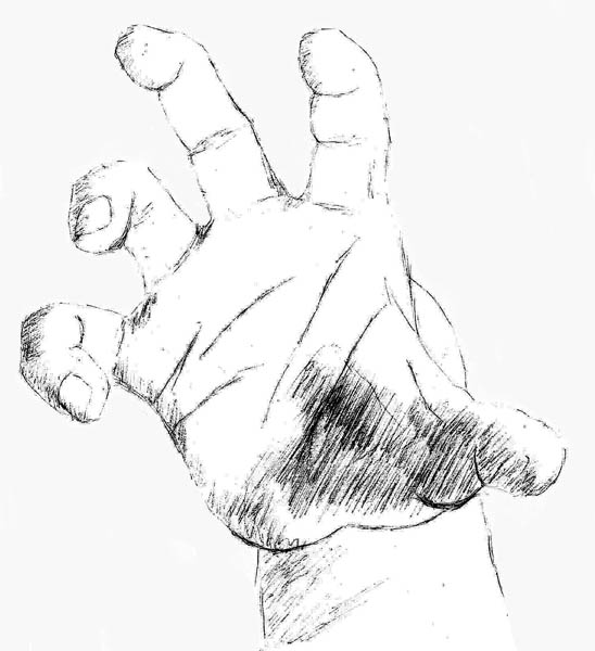10 how to draw hands grabbing