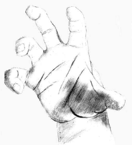 11 how to draw hands grabbing