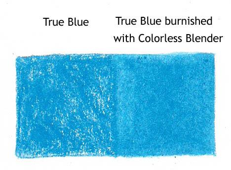 true blue colorless blender