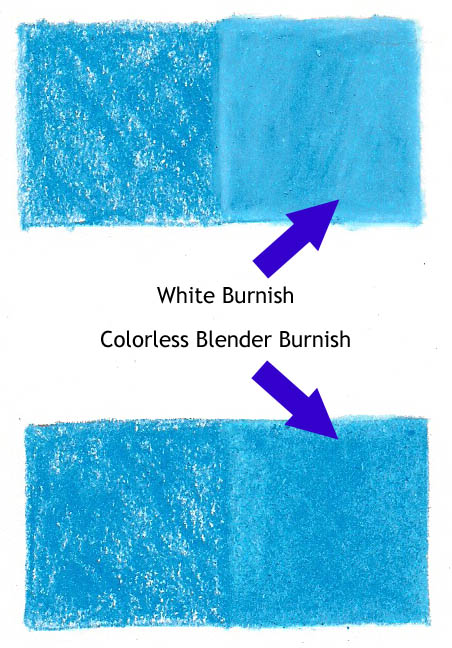 true blue white and colorless blender